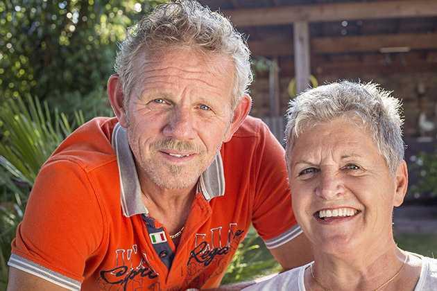Hennie en José van Rens